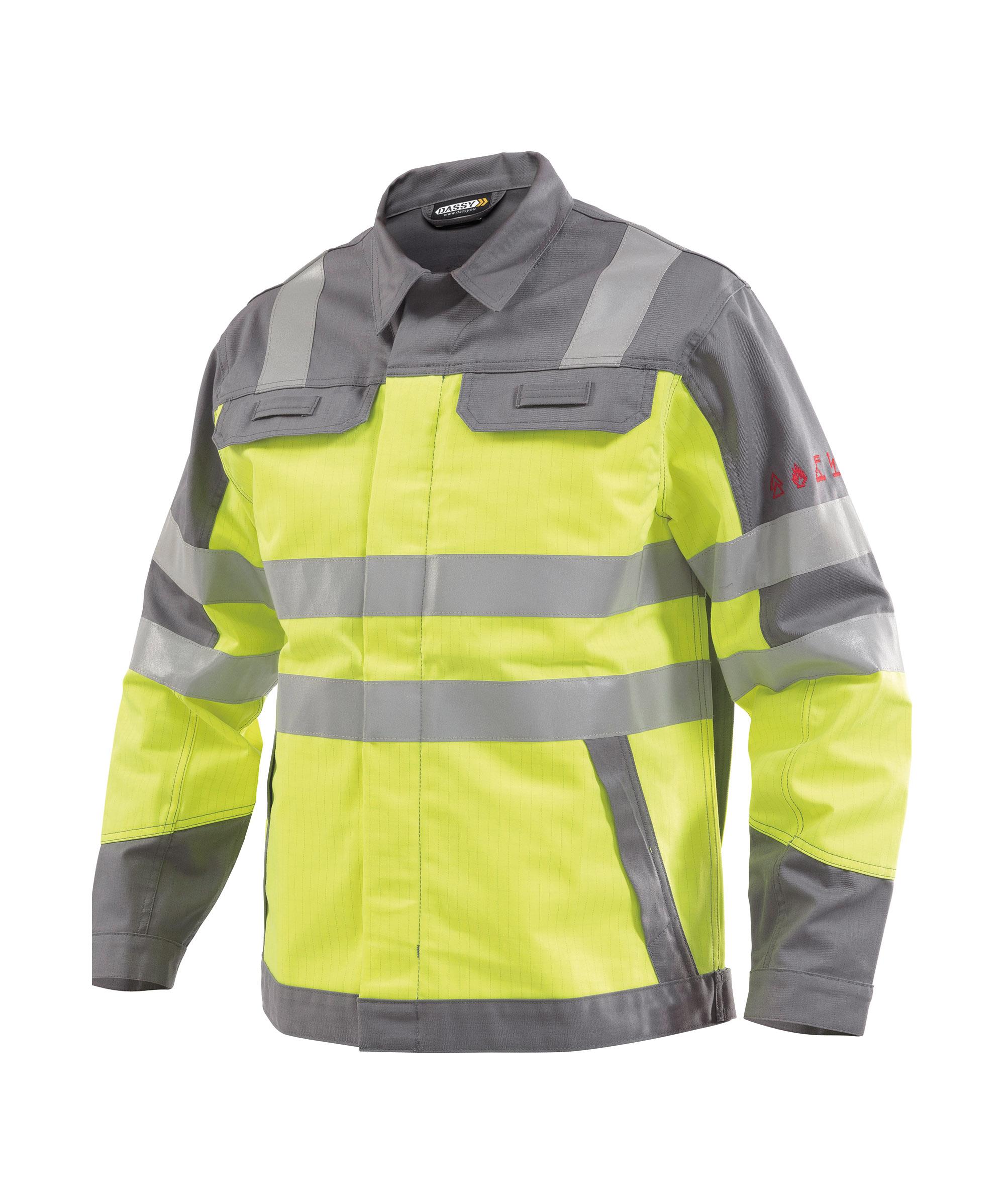 Dassy, Franklin zweifarbige Multinorm Warnschutz Arbeitsjacke 300374