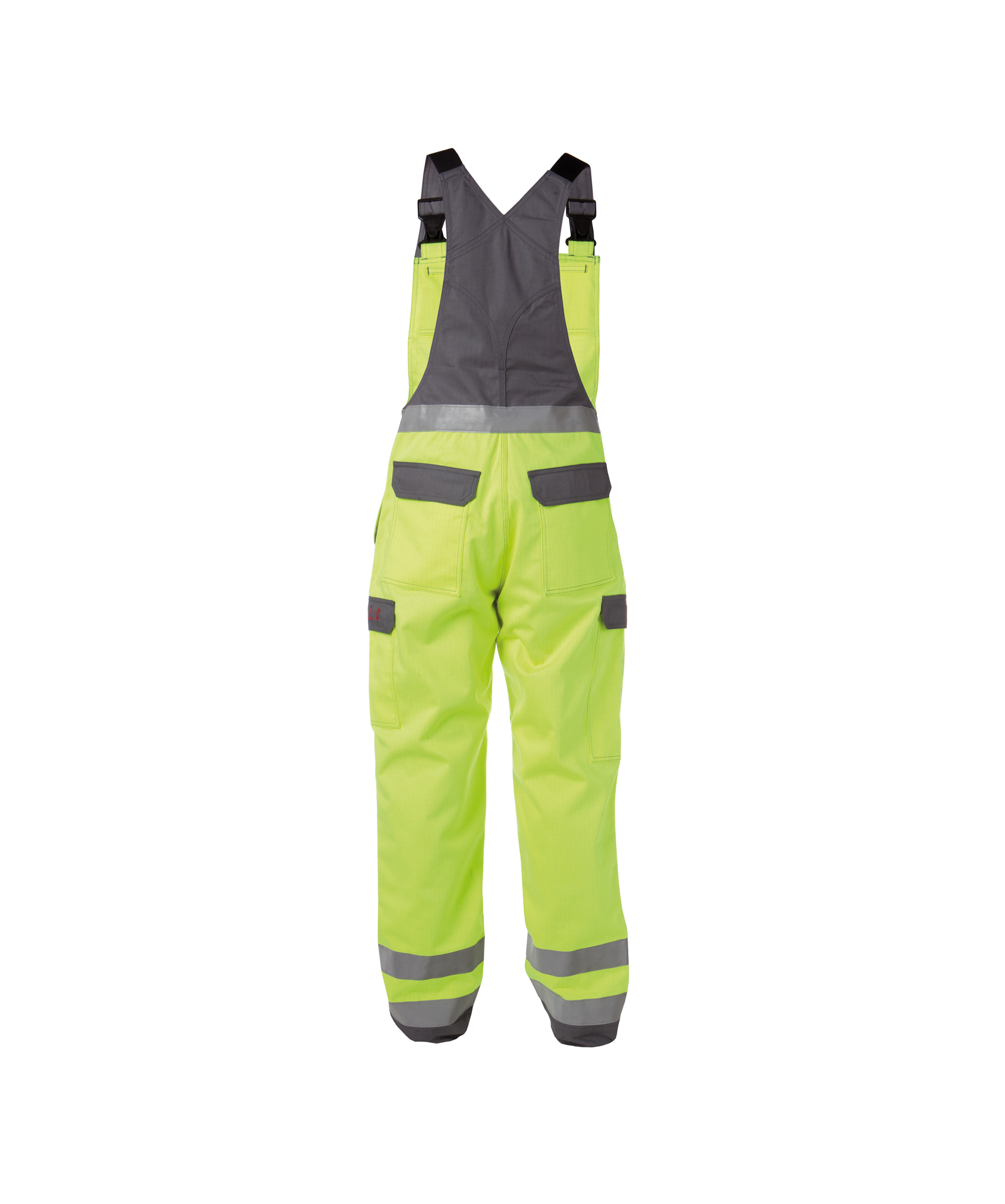 Dassy, Colombia zweifarbige Multinorm Warnschutz Latzhose mit Kniepolstertaschen 400141