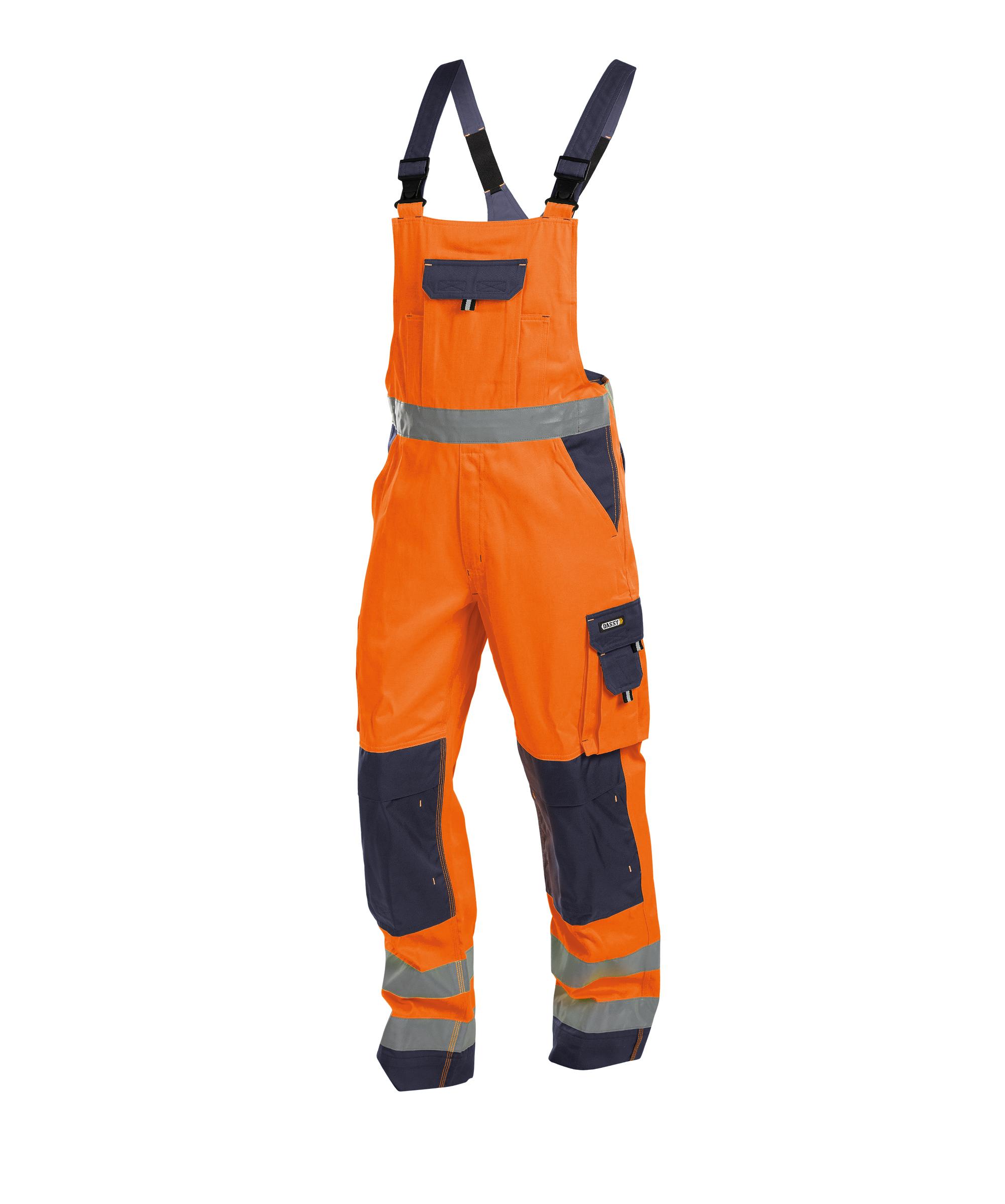 Dassy, Toulouse Warnschutz Latzhose mit Kniepolstertaschen 400127