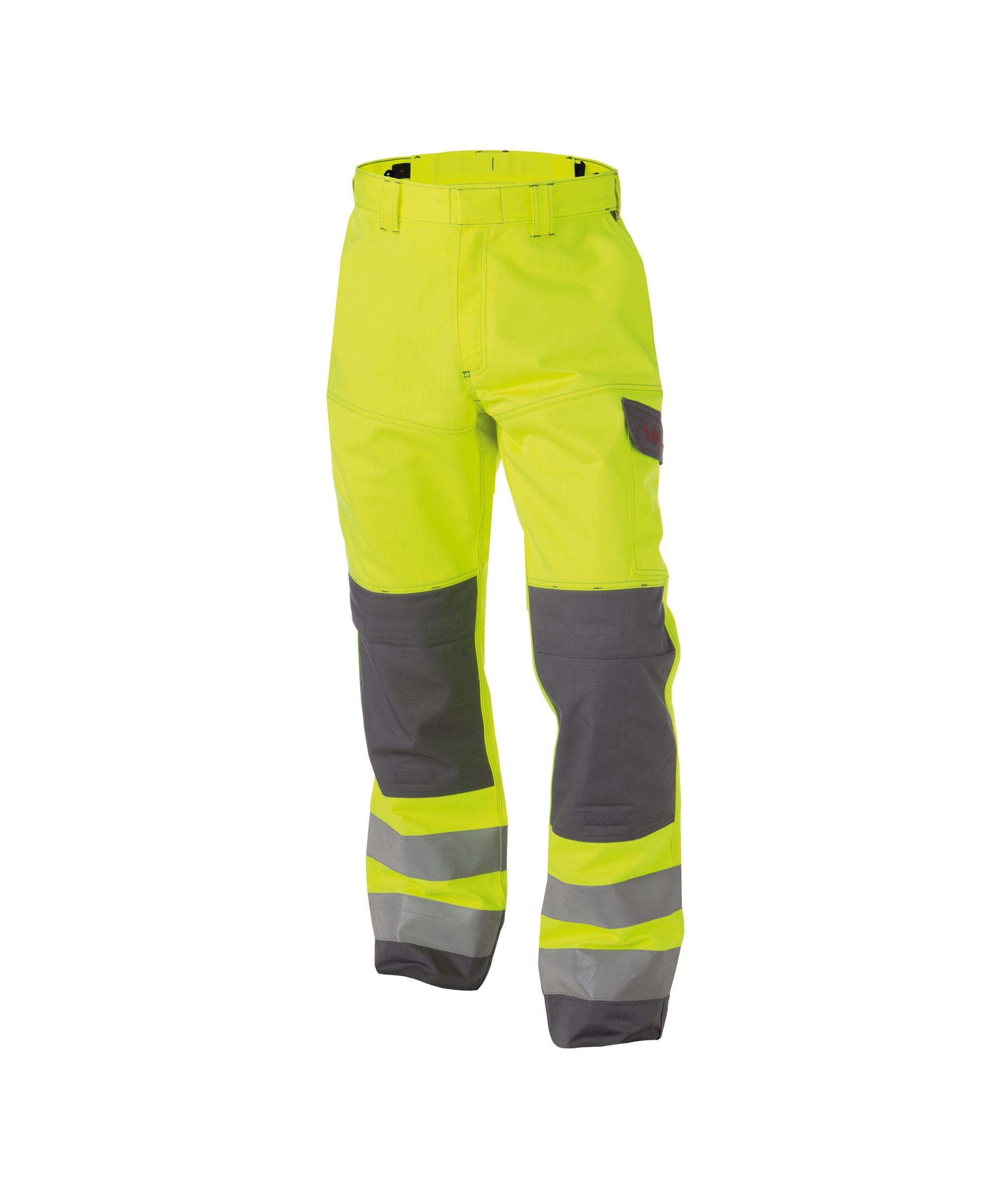 Dassy, Manchester zweifarbige Multinorm Warnschutz Bundhose mit Kniepolstertaschen 200819