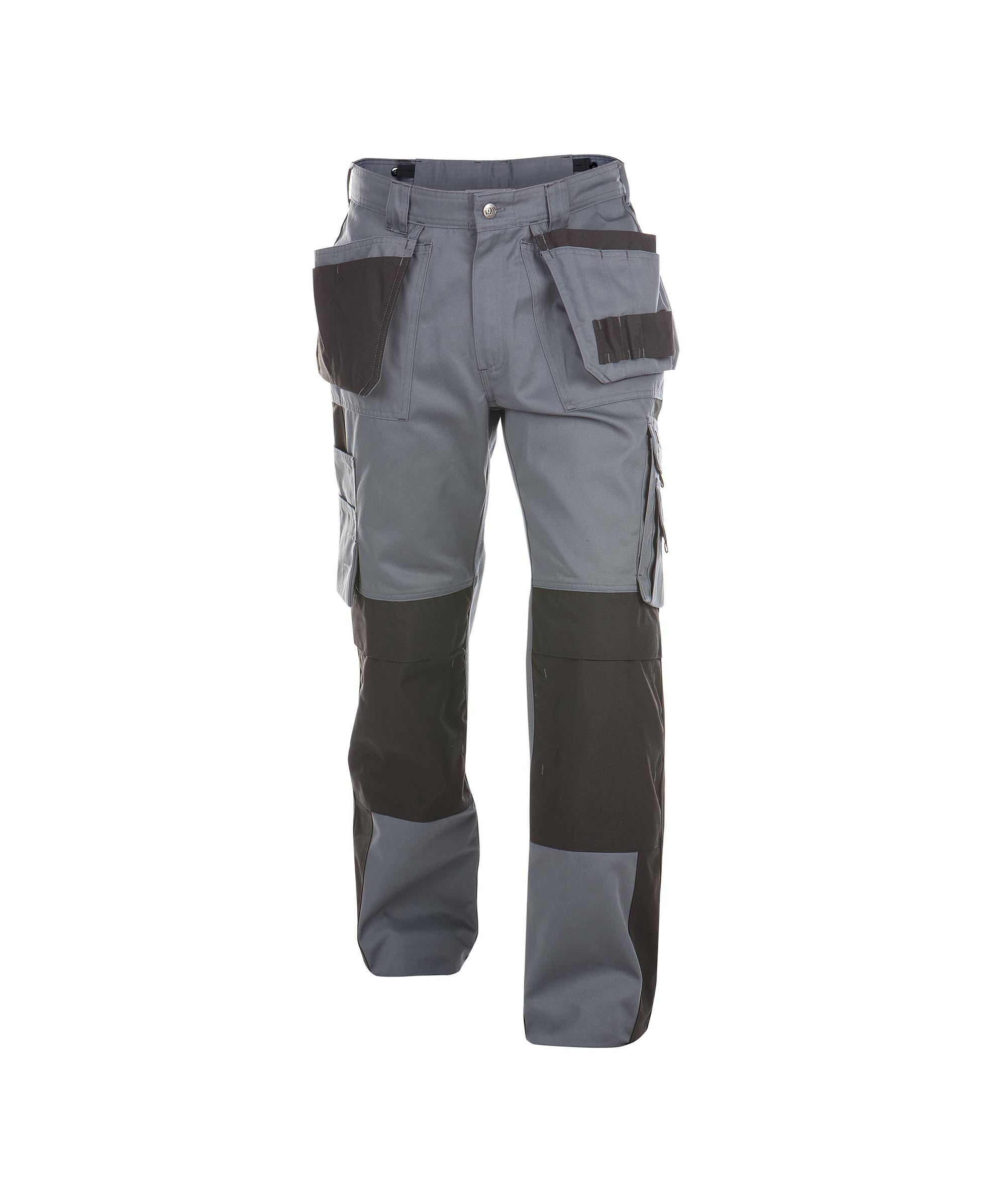 Dassy, Seattle zweifarbige Arbeitshose mit Holster- und Kniepolstertaschen