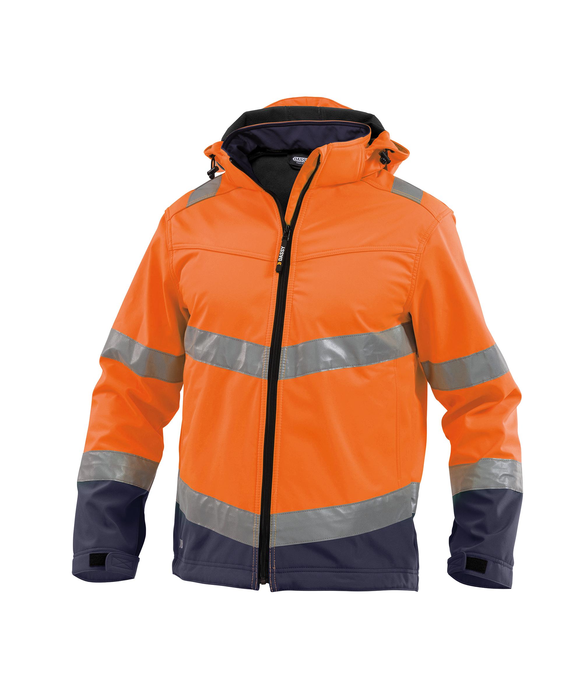 Dassy, Malaga Warnschutz Softshell-Jacke 300329